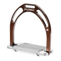 Jin Stirrup Kinko Stirrups - Brown