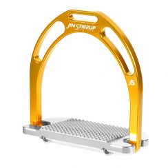 Jin Stirrup Kinko Stirrups - Gold