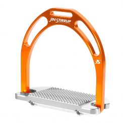 Jin Stirrup Kinko Stirrups - Orange