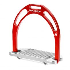 Jin Stirrup Kinko Stirrups - Red
